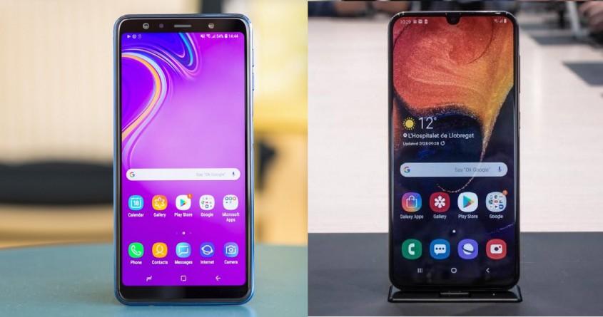 So sánh Galaxy A50 và A7 2018: Bước tiến giữa 2 thế hệ có đột phá?
