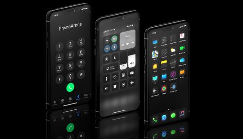 Chiêm ngưỡng thiết kế iPhone XI với iOS 13, Dark Mode và cụm 3 camera