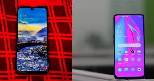 So sánh Galaxy A50 và Oppo F11 Pro: Samsung tung bài hạ gục Oppo