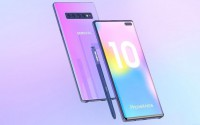 Galaxy Note 10 lộ ảnh concept với màn hình không viền, 4 camera sau
