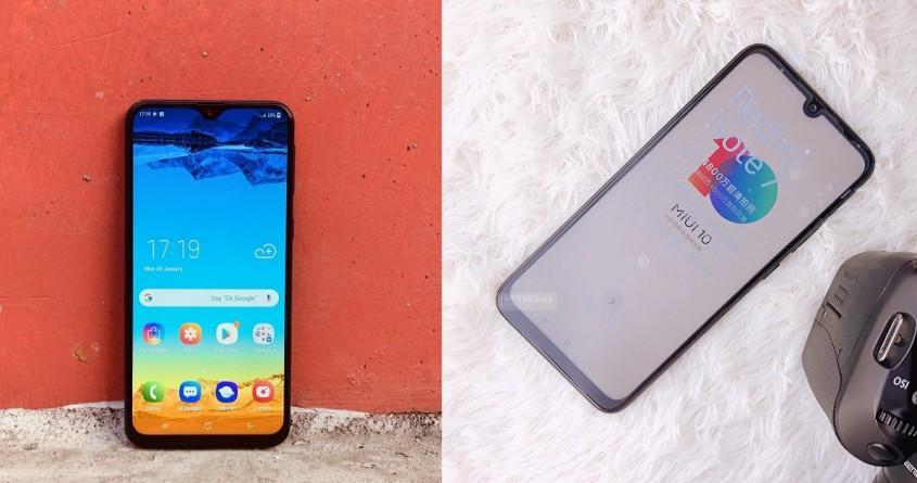 So sánh Galaxy A20 và Redmi Note 7: Dưới 5 triệu nên chọn gì?