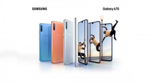 Galaxy A70 chính thức ra mắt: Màn hình 6.7 inch, camera selfie 32MP