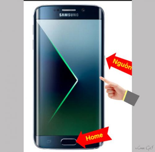 Hướng dẫn cắt ảnh chụp màn hình trên Galaxy S6 Edge Plus