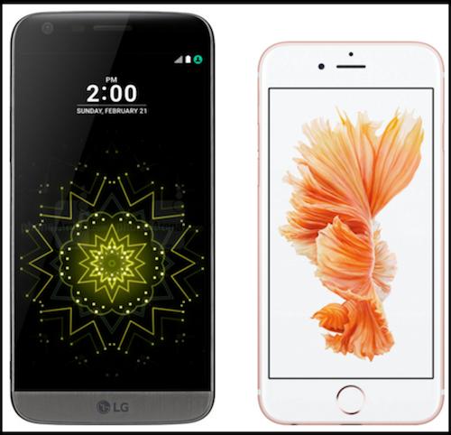 Điểm qua 5 tính năng chỉ có ở LG G5 mà iPhone 6S không có