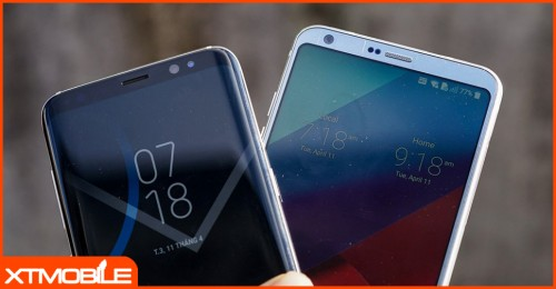"""Chiêm ngưỡng những hình ảnh """"đẹp không tì vết"""" của bộ đôi LG G6 và Galaxy S8"""