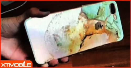 Apple iPhone 7 Plus lại phát nổ trong đêm