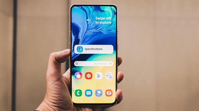 Galaxy A80 ra mat có kích thước lên đến 6,7 inch