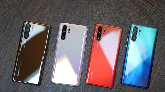 Huawei P30 Pro mang đến nhiều tùy chọn màu sắc hấp dẫn