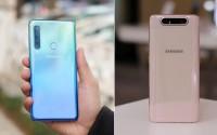 So sánh Galaxy A80 và Galaxy A9 2018: Bạn chọn 3 hay 5 camera?
