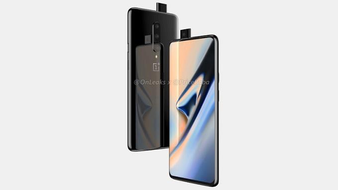 Màn hình OnePlus 7 Pro và 7 Pro 5G sẽ có kích thước lớn 6,7 inch