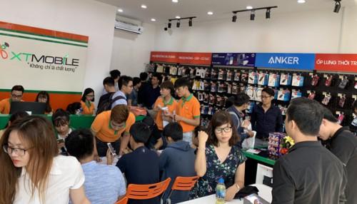 Hình ảnh tưng bừng khai trương cửa hàng XTmobile - 57 Quang Trung