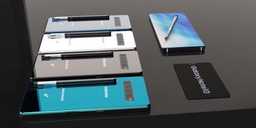 Galaxy Note 10 tiếp tục lộ ảnh concept cho thấy thiết kế hoàn hảo