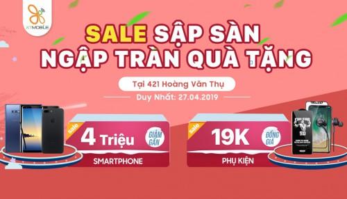 Sale cuối tuần: Note 9 giảm đến 3,7 triệu, phụ kiện giá từ 19K