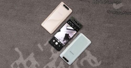 Đánh giá Galaxy A80: Smartphone màn hình tràn viền hoàn hảo