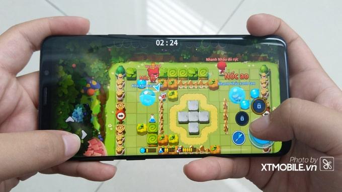 Galaxy S9 Plus xách tay Hàn Quốc vẫn được cung cấp sức mạnh từ bộ xử lý Exynos 9810 mạnh mẽ