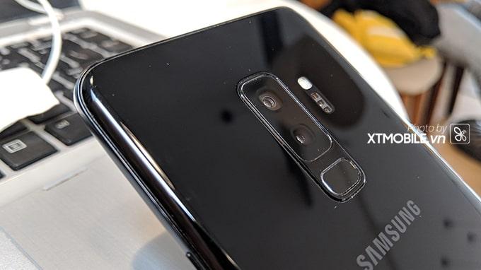 Một số hình ảnh thực tế của Galaxy S9 Plus 97% được chụp tại XTmobile
