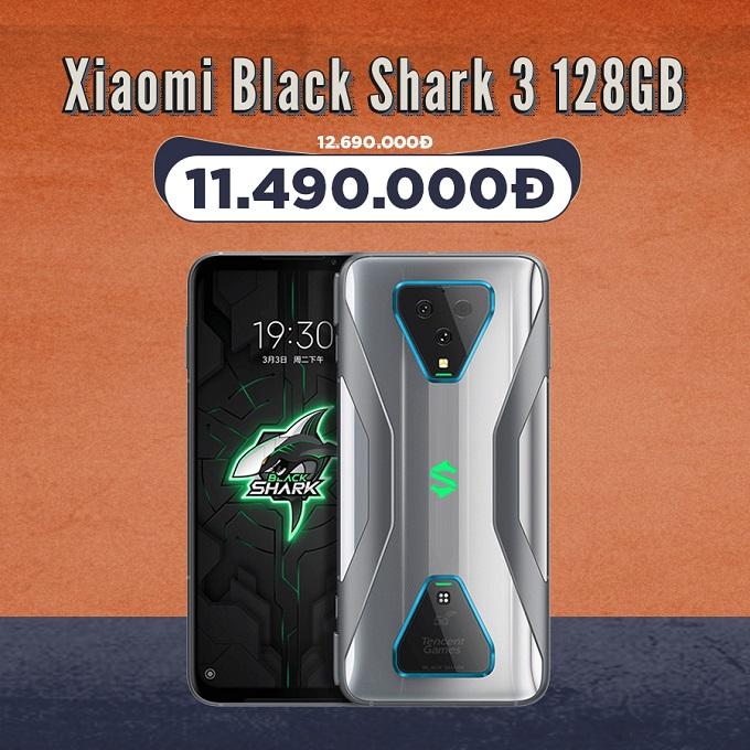 Xiaomi Black Shark 3 giá cực tốt chỉ 11,3 triệu