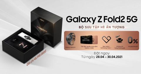 Đặt trước Galaxy Z Fold 2 5G bản đặc biệt Summer 2021: Nhận hàng loạt ưu đãi và quà tặng hấp dẫn