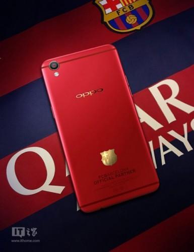 Sản phẩm Oppo F1 Plus phiên bản Barcelona sắp ra mắt người dùng