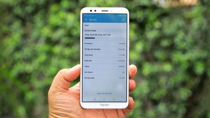 Đánh giá Huawei Honor 7C Chính Hãng