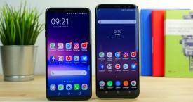 Samsung Galaxy S8+ và LG V30+: Cuộc chiến giữa những người đồng hương