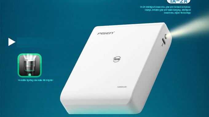 Đánh giá Pin Dự Phòng Pisen Easy Power V 10.000 mAh - PA0505