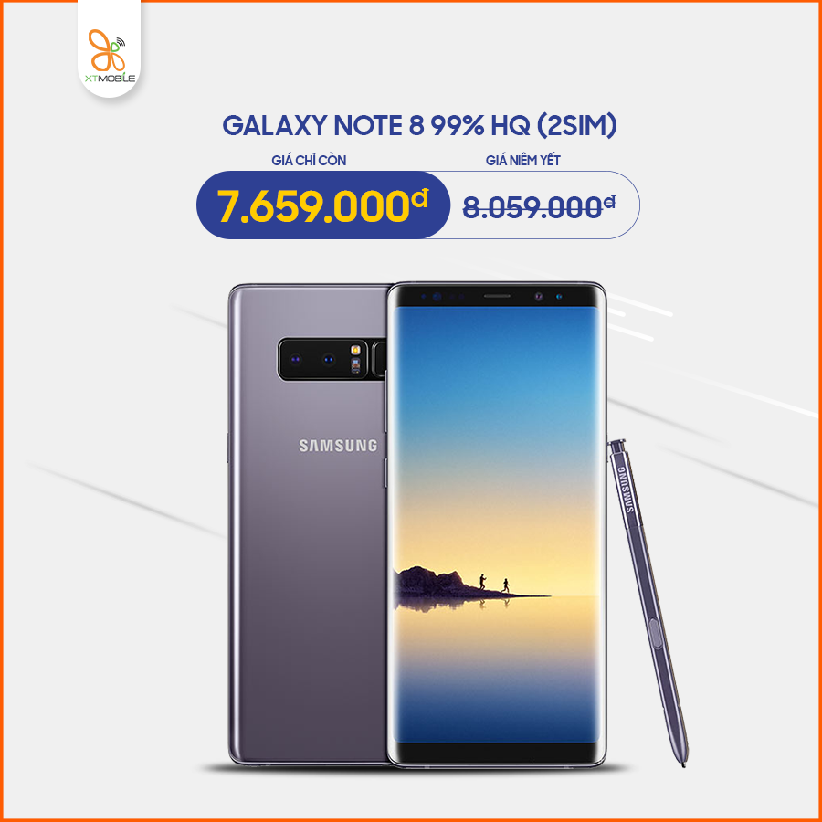 Galaxy Note 8 64GB Hàn giá chỉ còn 7,6 triệu