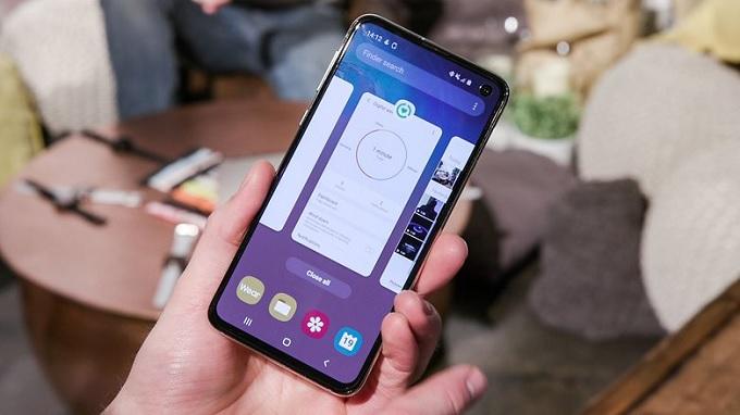 Galaxy S10e sở hữu bộ vi xử lý Qualcomm Snapdragon 855 cực kỳ mạnh mẽ với RAM 6GB