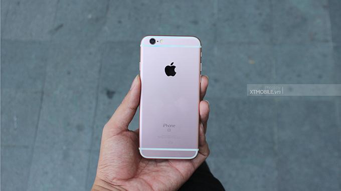 iPhone 6s Plus có thiết kế vỏ nhôm mát lạnh