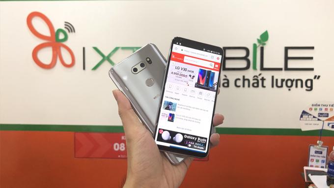 mua LG V30 64GB Hàn Quốc sẽ được giảm giá lên đến 1,2 triệu