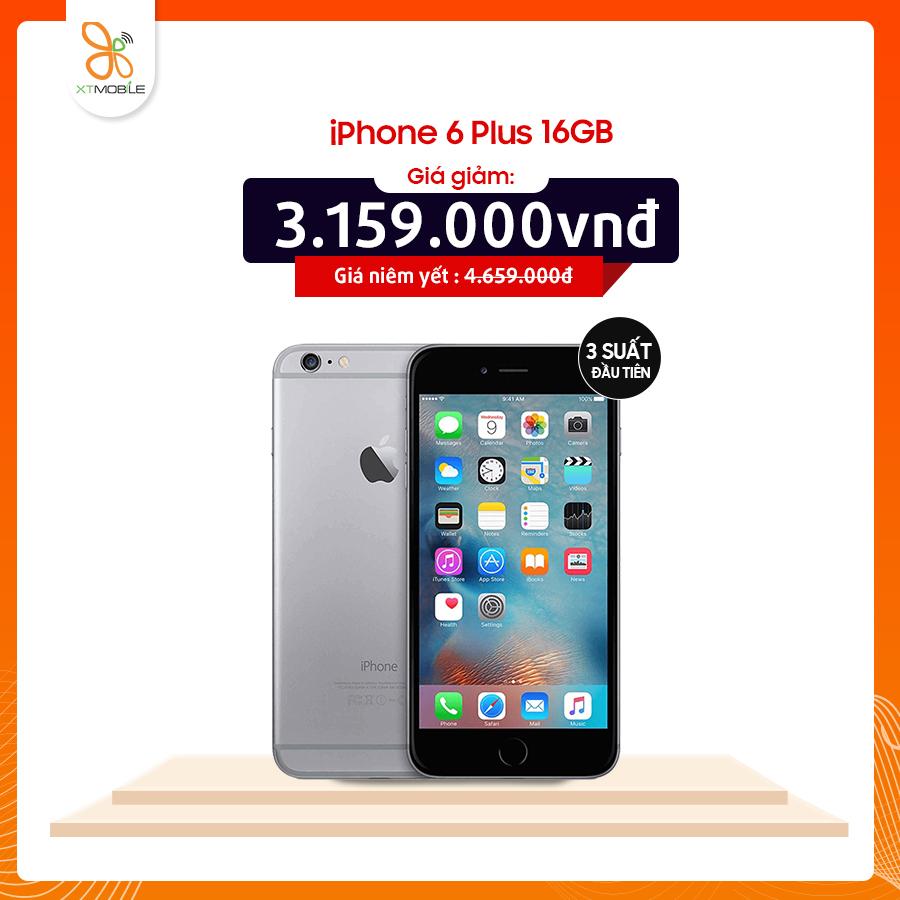 iPhone 6 Plus 16GB giá chỉ 3.159.000đ