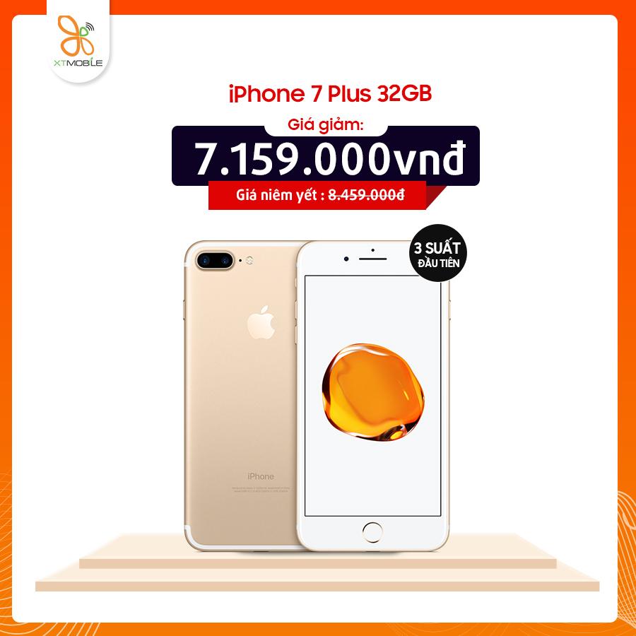 iPhone 7 Plus 32GB giá chỉ còn 7.159.000đ