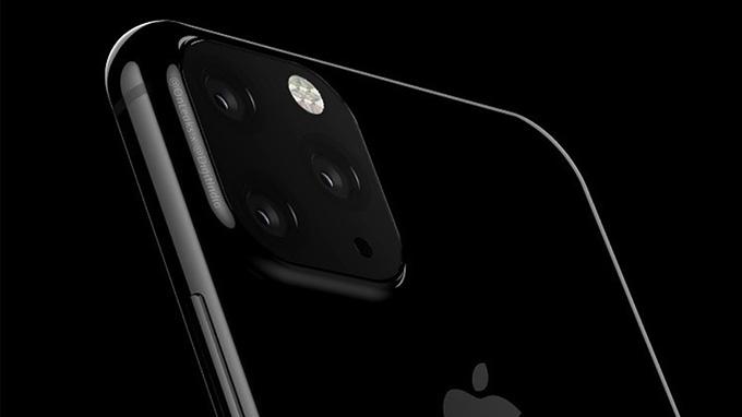 iPhone 2019 được nâng cấp lên 3 camera