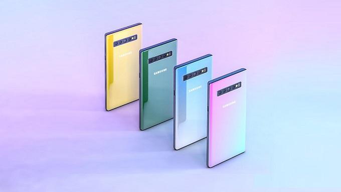 Galaxy Note 10 sẽ có tới 4 biến thể với kích thước khác nhau