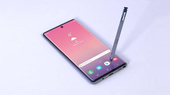 Galaxy Note 10 sẽ thiết kế màn hình cong với nhiều kích thước khác nhau