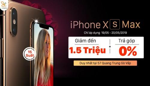 HOT Deal: iPhone Xs, Xs Max giảm giá đến 1,5 triệu tại XTmobile Quang Trung
