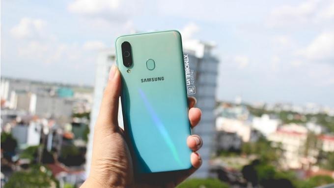 Thiết kế đẹp mắt của Galaxy A60 mới