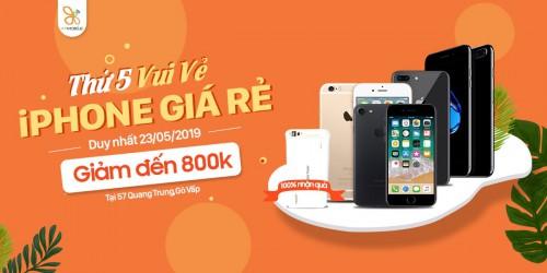 Thứ 5 vui vẻ: Mua iPhone 7 Plus, 8 Plus giá rẻ hơn đến 800K có thêm quà đến 500K