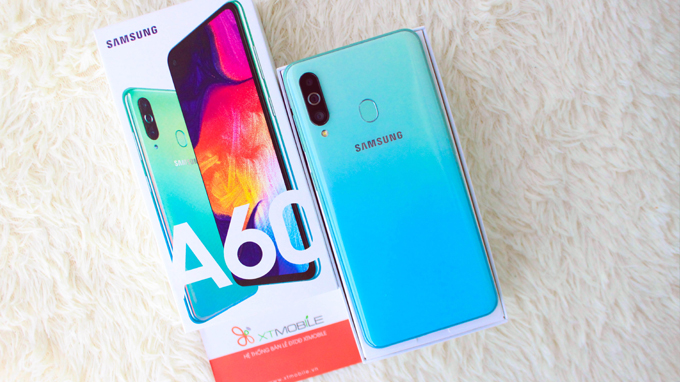 Galaxy A60 có thời lượng sử dụng lâu đáng kể cho người dùng, đáp ứng hơn một ngày làm việc