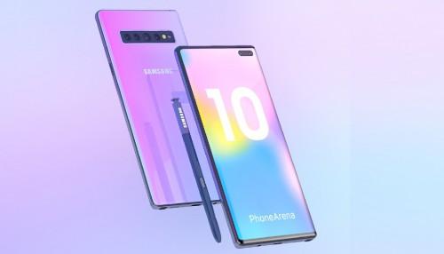 Samsung Galaxy Note 10 sẽ có cụm camera dọc như dòng iPhone?