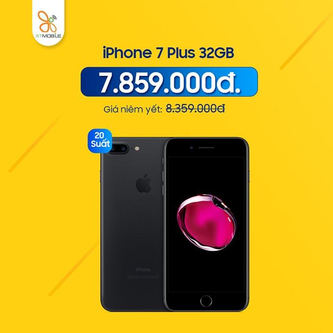 iPhone 7 Plus giảm thêm 500 ngàn