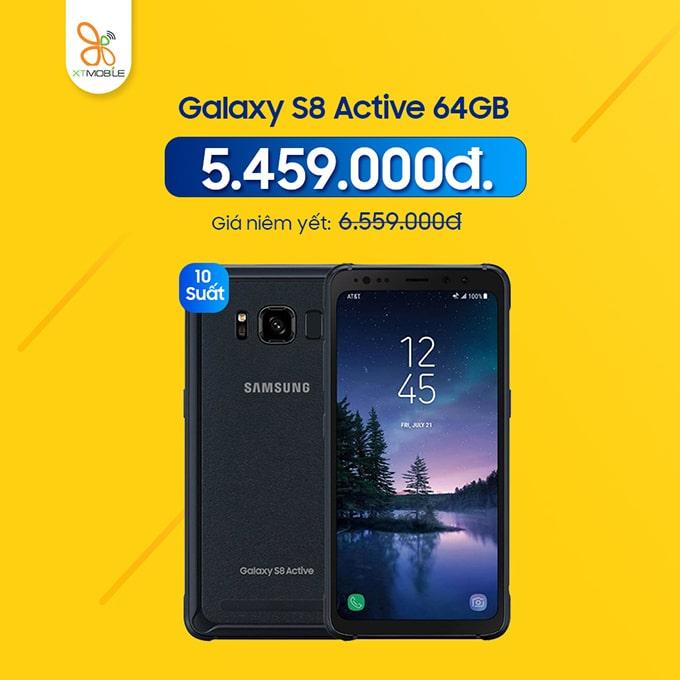 Galaxy S8 Active giá chỉ 5,46 triệu