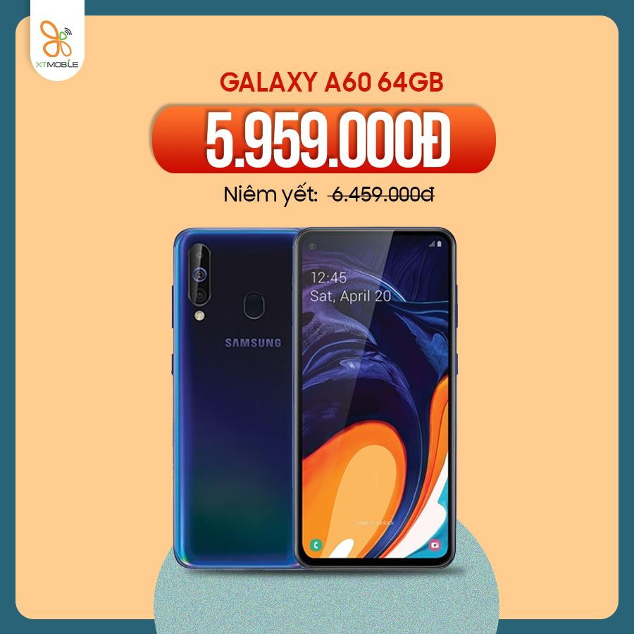 Galaxy A60 64GB giảm 500k