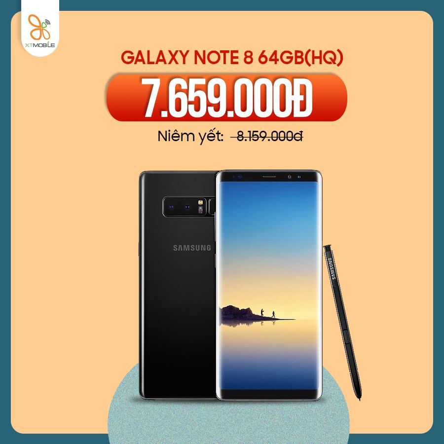 Galaxy Note 8 64GB giảm 500K