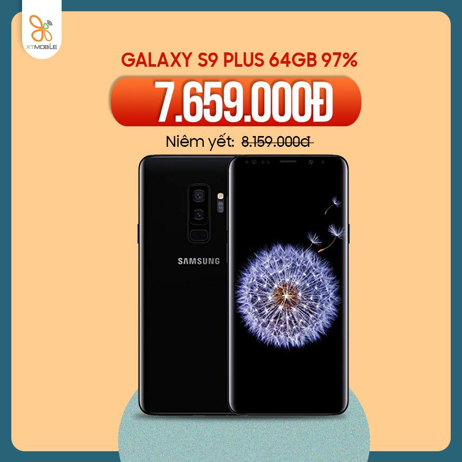 Galaxy S9 Plus 64GB cũ 97% giảm 500.000đ