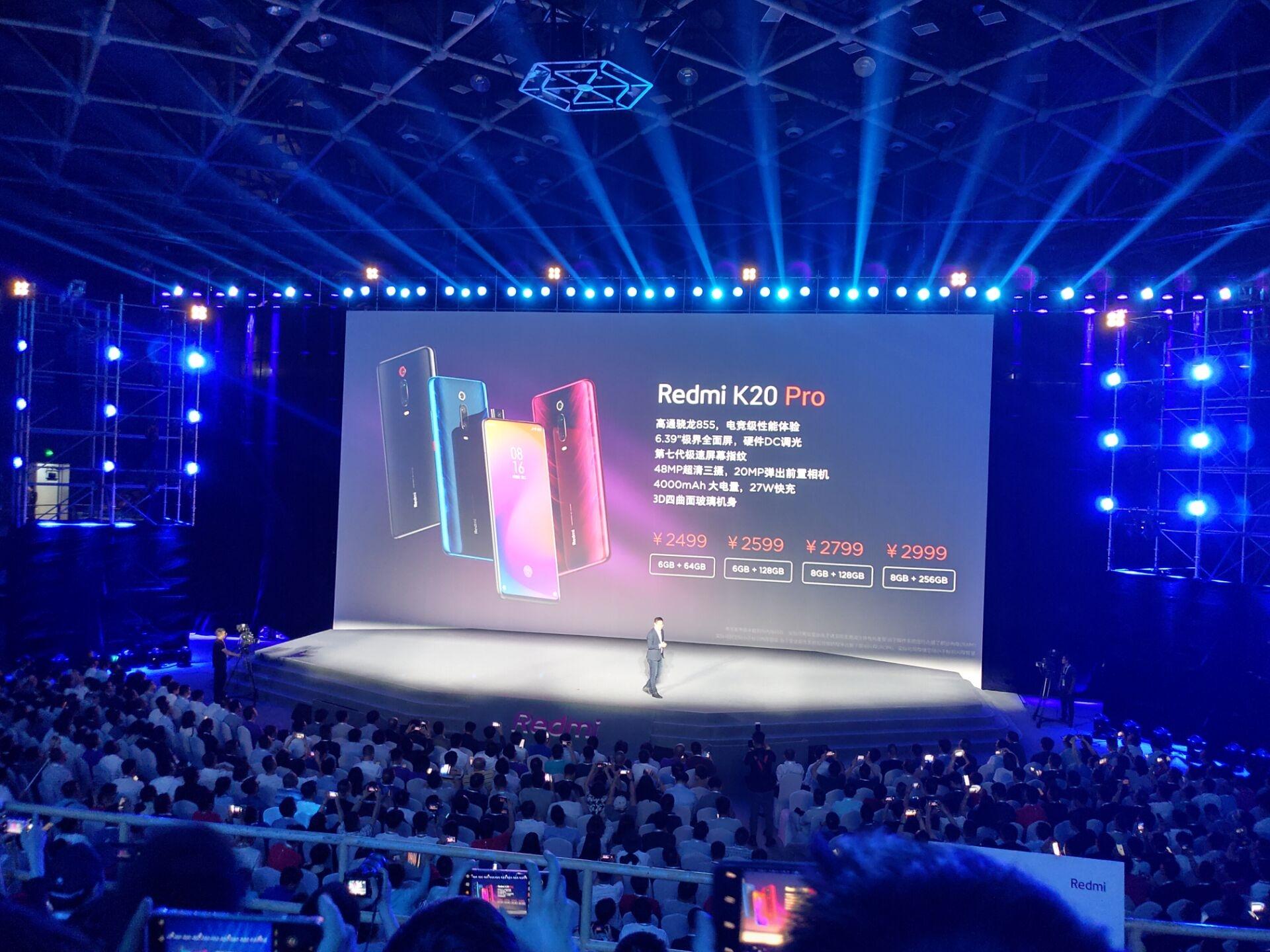 Giá bán Redmi K20 Pro dự kiến dành cho các phiên bản