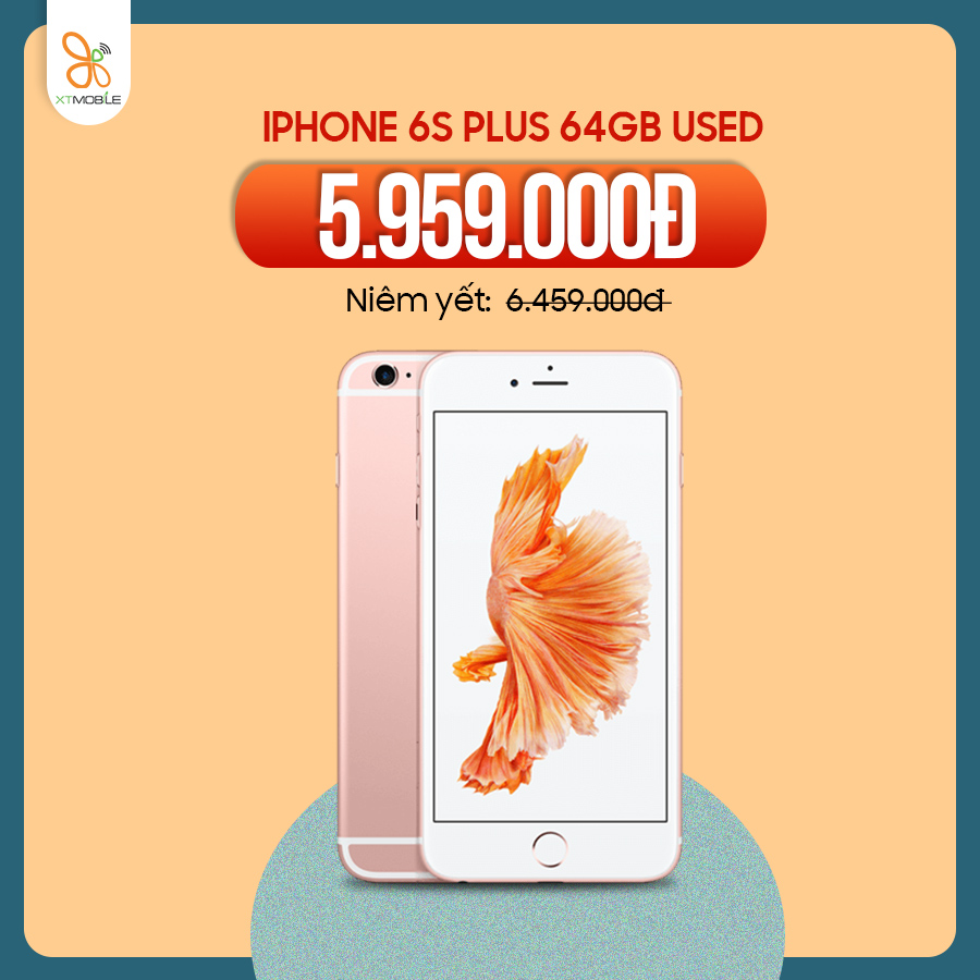 iPhone 6s Plus 64GB giảm 500k