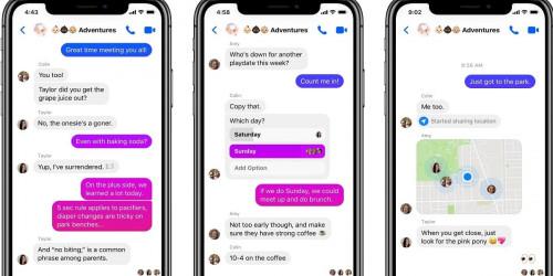 Ứng dụng Messenger trên iOS chuẩn bị được cập nhật bong bóng chat tương tự như Android