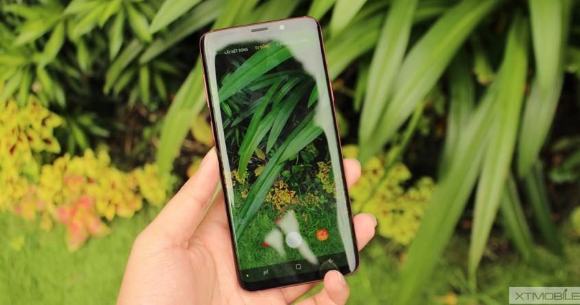 Trên tay Galaxy S9 Plus đỏ đầu tiên tại Việt Nam, giá 20 triệu đồng
