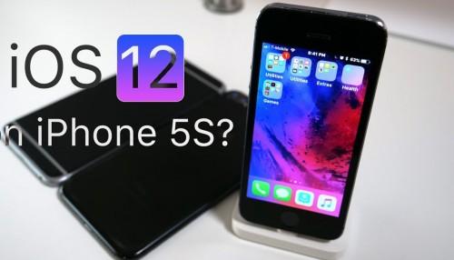 Với iOS 12 - iPhone 5S, iPhone 6/6Plus mạnh mẽ hơn bao giờ hết